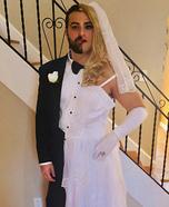 Half Bride and half Groom Homemade Costume