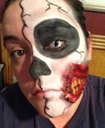 Half Face Homemade Costume