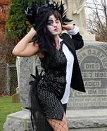 Half Raven, Half Edgar Allan Poe Costume