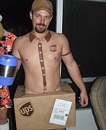 UPS Delivery Man Halloween Costume
