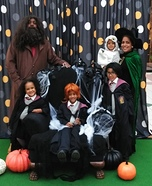 Halloween at Hogwarts Homemade Costume