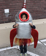 Halloween Blast Off Homemade Costume