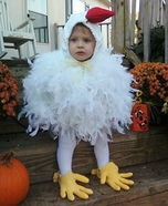 Cutest Halloween costumes for babies - Chicken Halloween Costume