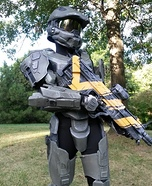 Halo Master Chief Homemade Costume