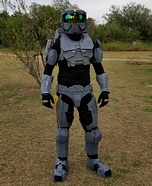 Halo Spartan Homemade Costume