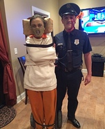 Hannibal Lecter Couple Homemade Costume