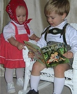 Homemade Hansel and Gretel Costumes