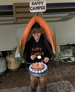 Happy Camper Homemade Costume