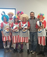 Harlem Globetrotters Group Costume