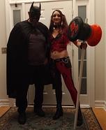 Harley and Batman Homemade Costume