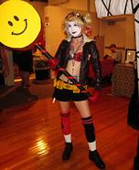 Bombshell Harley Quinn Homemade Costume