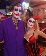 Harley and Joker Homemade Costume