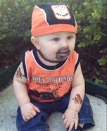 Harley Dude Baby Homemade Costume