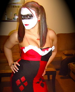 Homemade Harley Quinn Costume