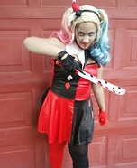 Harley Quinn Girl's Halloween Costume