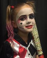 Harley Quinn Girl's Costume Idea