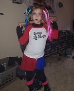 Harley Quinn Homemade Costume