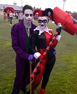 Harley Quinn and Joker Homemade Costume