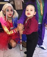 Harley Quinn and Joker Homemade Costume