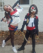 Harley Quinn and Katana Homemade Costume