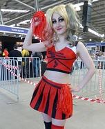 Harley Quinn Cheerleader Homemade Costume