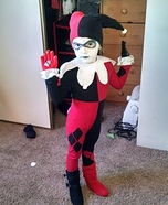 Harley Quinn Girl Homemade Costume