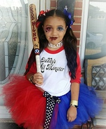 Suicide Squad Harley Quinn Girl's Halloween Costume