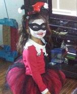 Harley Quinn Girl Homemade Costume
