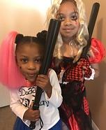 Harley Quinn Jr. Homemade Costume