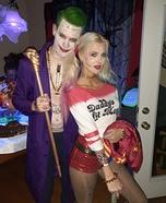 Harley Quinn & The Joker Homemade Costume