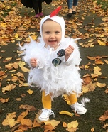 DIY Chicken Baby Costume