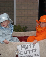 Harry and Lloyd Homemade Costume