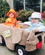 Harry and Lloyd from Dumb and Dumber Homemade Costume