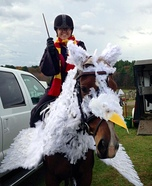 Harry Potter and Buckbeak the Hippogriff Homemade Costume