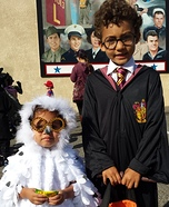 Harry Potter and Hedwig Costumes