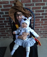 Harry Potter and Hedwig Homemade Costume