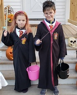 Harry Potter and Hermione Homemade Costume