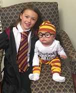 Harry Potter and Hermione Granger Homemade Costume