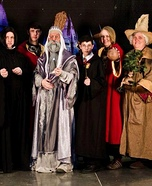Harry Potter Characters Homemade Costume