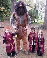 Fun family Halloween costume ideas - Harry Potter Character Homemade Costumes