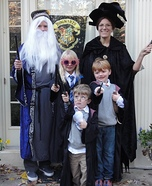 Family costume ideas - Harry Potter Family Costume