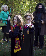 Harry Potter Family Homemade Costume