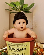 Harry Potter Mandrake Baby Homemade Costume