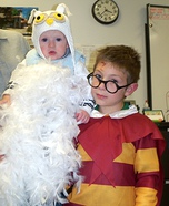 Children's book Halloween costumes - Harry Potter & Hedwig Costume