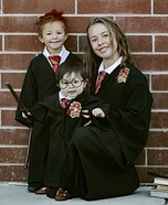 Harry, Ron & Hermione Homemade Costume