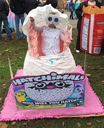 Hatchimal Homemade Costume