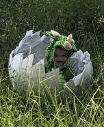 Hatching Dinosaur Homemade Costume