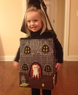 Creative homemade costumes for babies - Haunted House Costume DIY