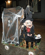 Haunted House and Witch Homemade Costume