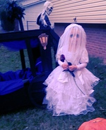 Haunted Mansion Bride Homemade Costume